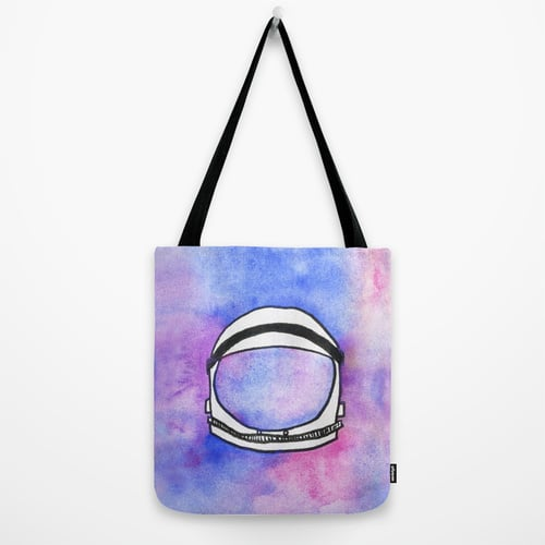 This astronaut tote bag ($22) is perfect for space enthusiasts, and it will also fit your mom's laptop neatly inside.