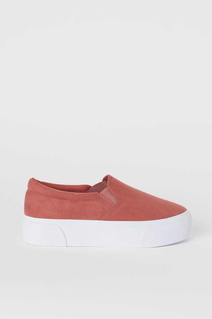 H&M Slip-On Platform Shoes