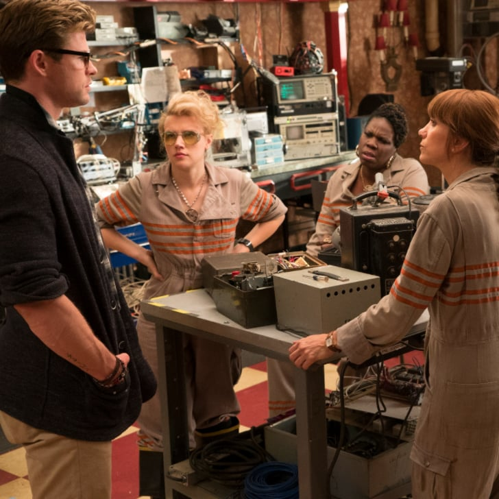 Ghostbusters Set Visit Pictures