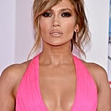 Jennifer Lopez With Side-Swept Bangs
