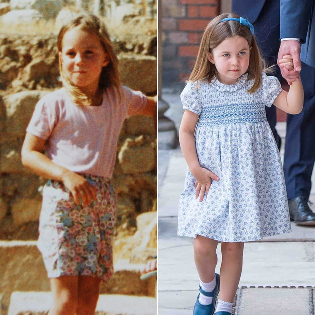Princess Charlotte Looks Like Kate Middleton