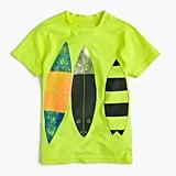 Short-Sleeve Rash Guard in Surfboard Trio