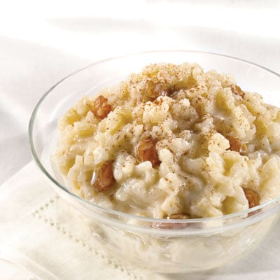 Serve Rice Pudding Instead Of Birthday Cake
