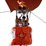 Chinese Newlyweds Get Carried Away During Hot-Air Balloon Weddings