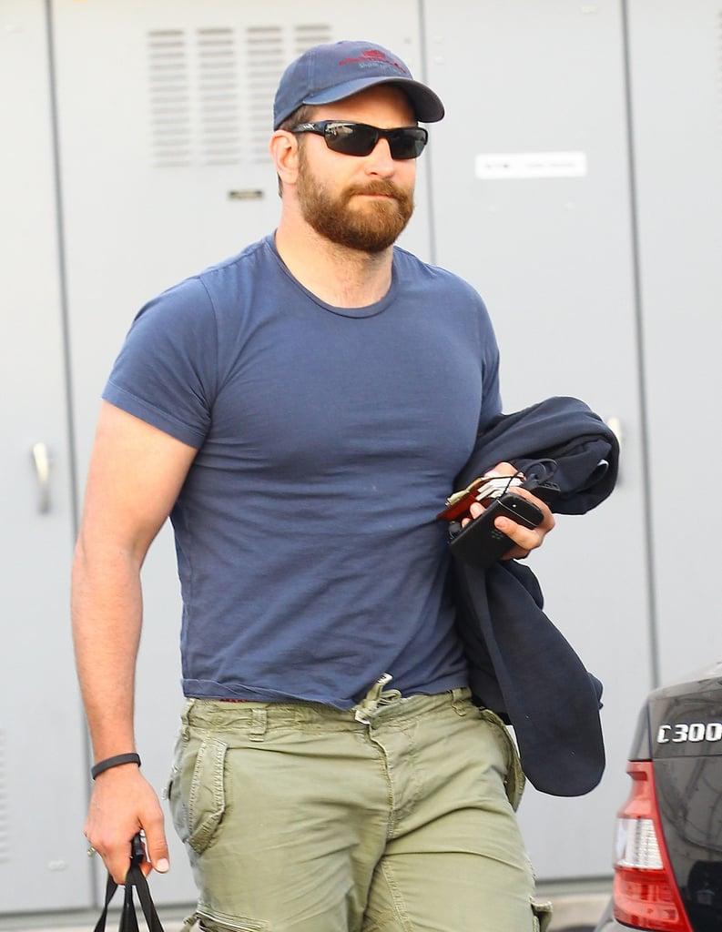 Bradley Cooper Looking Buff in LA