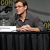 Matt Damon spoke about Elysium.