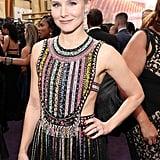 Kristen Bell's Dior Emmys Dress Has Rainbow Beads