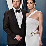 Lily Aldridge and Caleb Followill at the Vanity Fair Oscars Afterparty