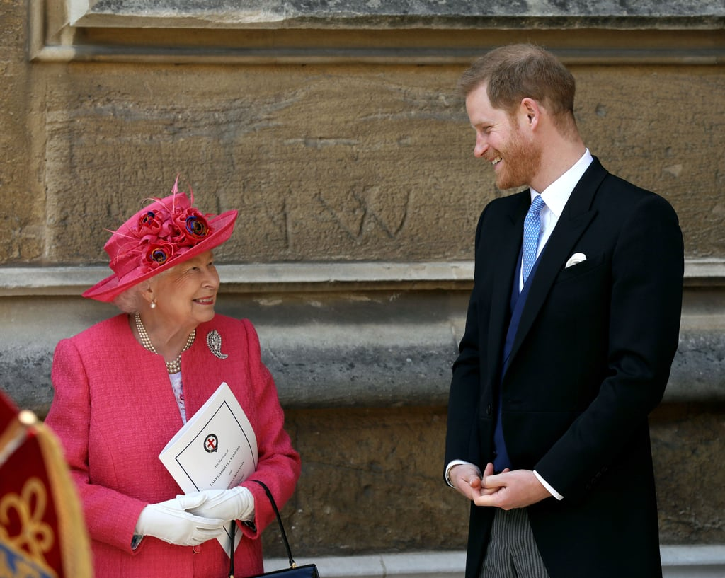 "Queen Elizabeth II has officially given her blessing for Prince Harry and Meghan Markle to step back as senior members of the royal family. In her statement, the queen made it clear that Harry, Meghan, and baby Archie ""will always be much loved members of my family.""  In the past, Elizabeth has also referred to Harry as her ""most dearly beloved grandson,"" and we can't help but reminisce about all the sweet moments they've shared together. From being front and center at the Trooping the Colour parade to sharing inside jokes at royal engagements, it's clear that Harry and his grandmother have a bond unlike any other and nothing is going to change that.  In fact, when Harry lost his mother, Princess Diana, in 1997, Elizabeth protected him and Prince William from the press by ""deliberately removing the newspapers"" so they ""didn't know what was going on."" When Harry was asked to describe their dynamic in an interview a few years ago, he said he still views her ""more as the queen"" than his grandmother. ""You have this huge amount of respect for your boss and I always view her as my boss, but occasionally as a grandmother."" Take a look at some of their best moments together.      Related:                                                                                                           22 Sweet Photos of Prince Philip and His Royal Grandkids"