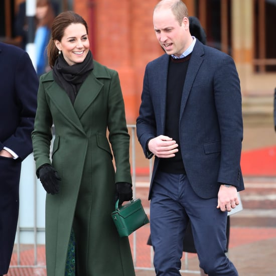 Kate Middleton Green Manu Atelier Bag