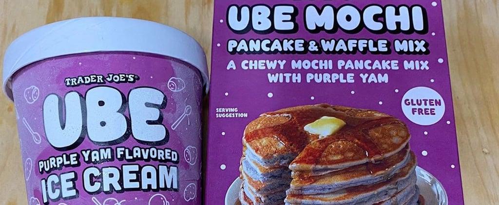 Trader Joe's Now Has Purple Ube Mochi Pancake and Waffle Mix