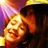 Soleil Moon Frye hit the road with her eldest daughter, Poet. Source: Instagram user moonfrye