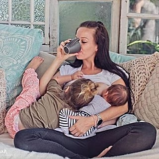 Tandem Breastfeeding Photos