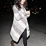 Pregnant Jenna Dewan headed to a salon in LA.