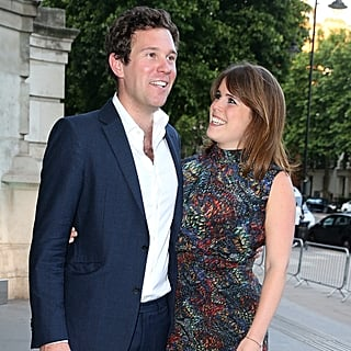 Princess Eugenie Smiling at Jack Brooksbank Pictures