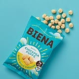 Biena Baked Chickpea Puffs in Aged White Cheddar