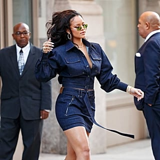 Rihanna Street Style Pictures