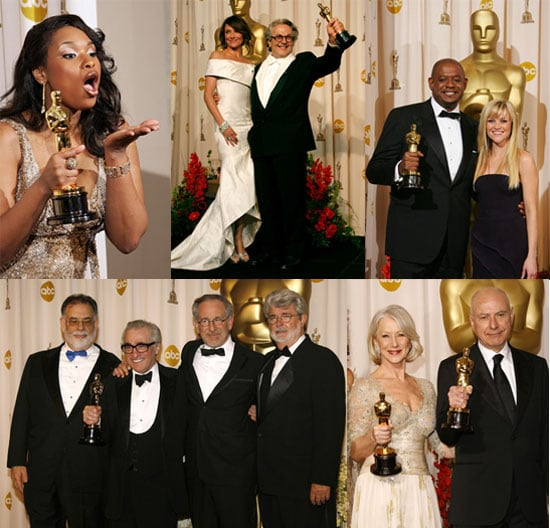 The Big Winners at the Oscars!