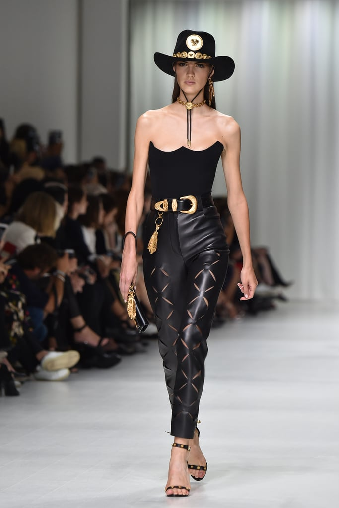 Selena's Look on the Versace Runway