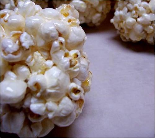 Chewy Syrupy Popcorn Balls
