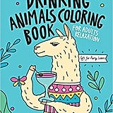 Drinking Animals Colouring Book