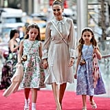 Sarah Jessica Parker and Daughters at NYC Ballet Gala 2018