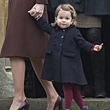 Navy Coat: Princess Charlotte