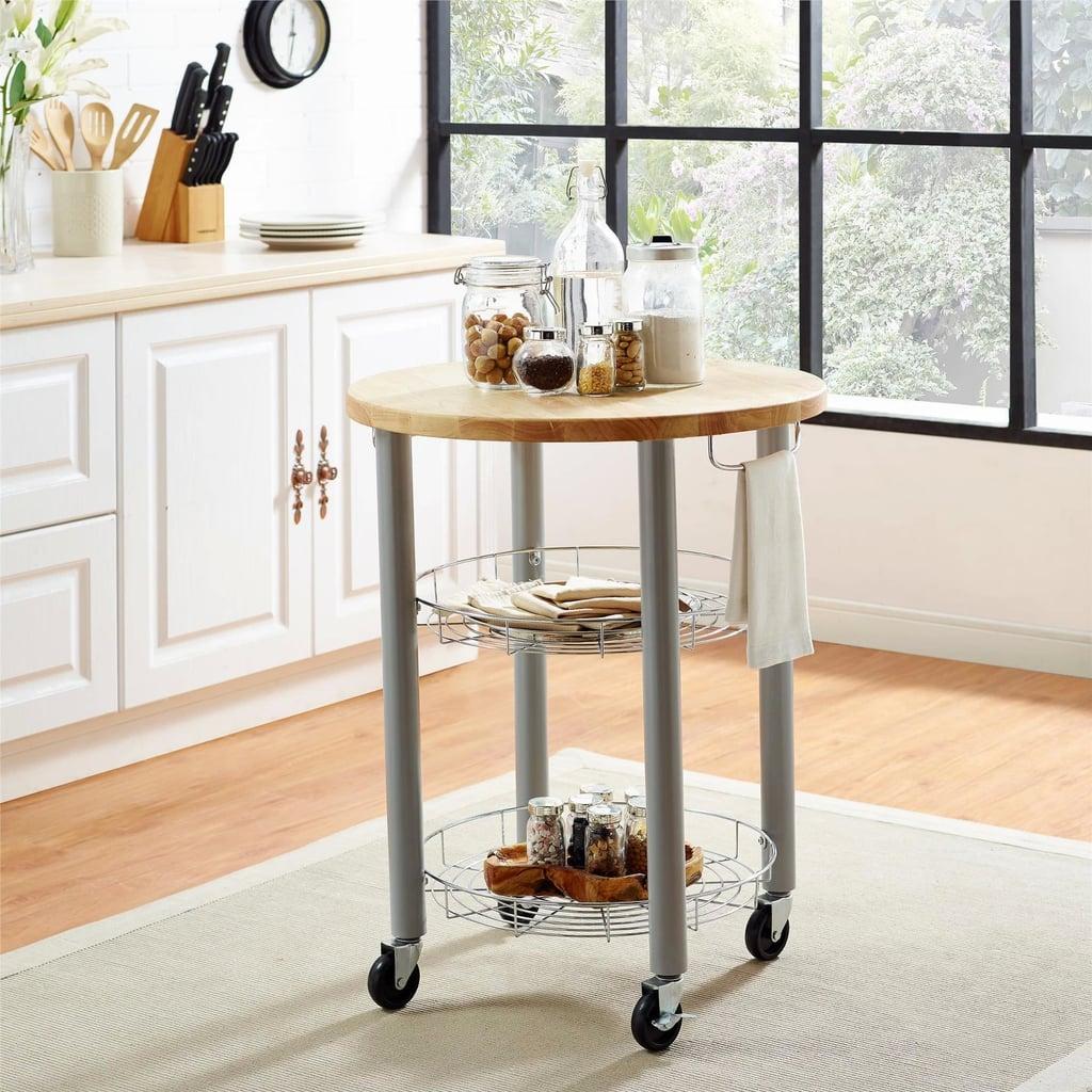 Elza Round Kitchen Cart