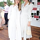 Hannah Bagshawe and Lily James