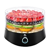 New House Kitchen 5 Round Dehydrator BPA-Free Stackable Electric Food Preserver