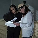 Creator I. Marlene King behind the scenes.