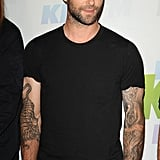 Adam Levine performed with Maroon 5.