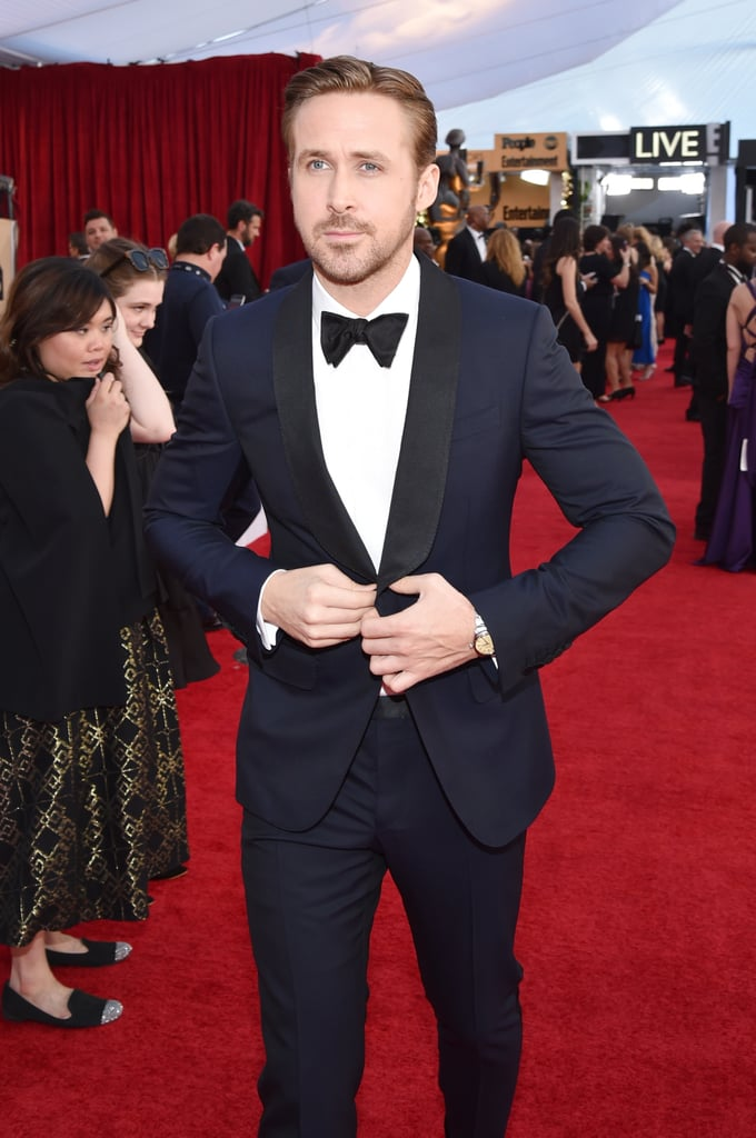 Ryan Gosling sah auf den SAG Awards wie ein Geschenk vom Himmel aus