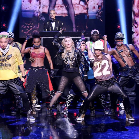 """Madonna Performs """"Bitch I'm Madonna"""" on The Tonight Show"""