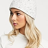 ASOS Design Recycled Polyester Rib Fisherman Beanie