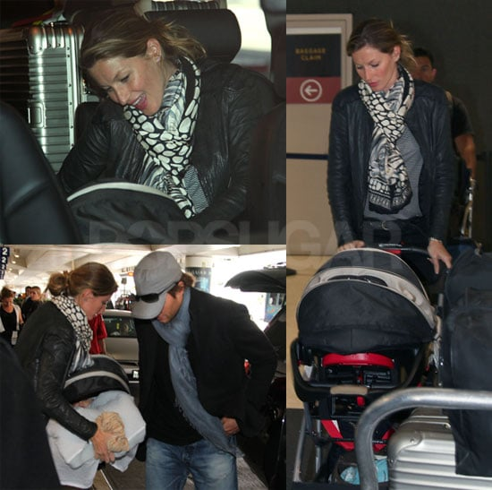 Pictures of Gisele Bundchen, Tom Brady and Baby Ben
