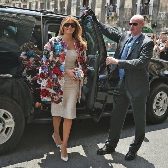 Melania Trump Wears $51,000 Coat