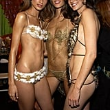 With Lindsay Frimodt and Alessandra Ambrosio.
