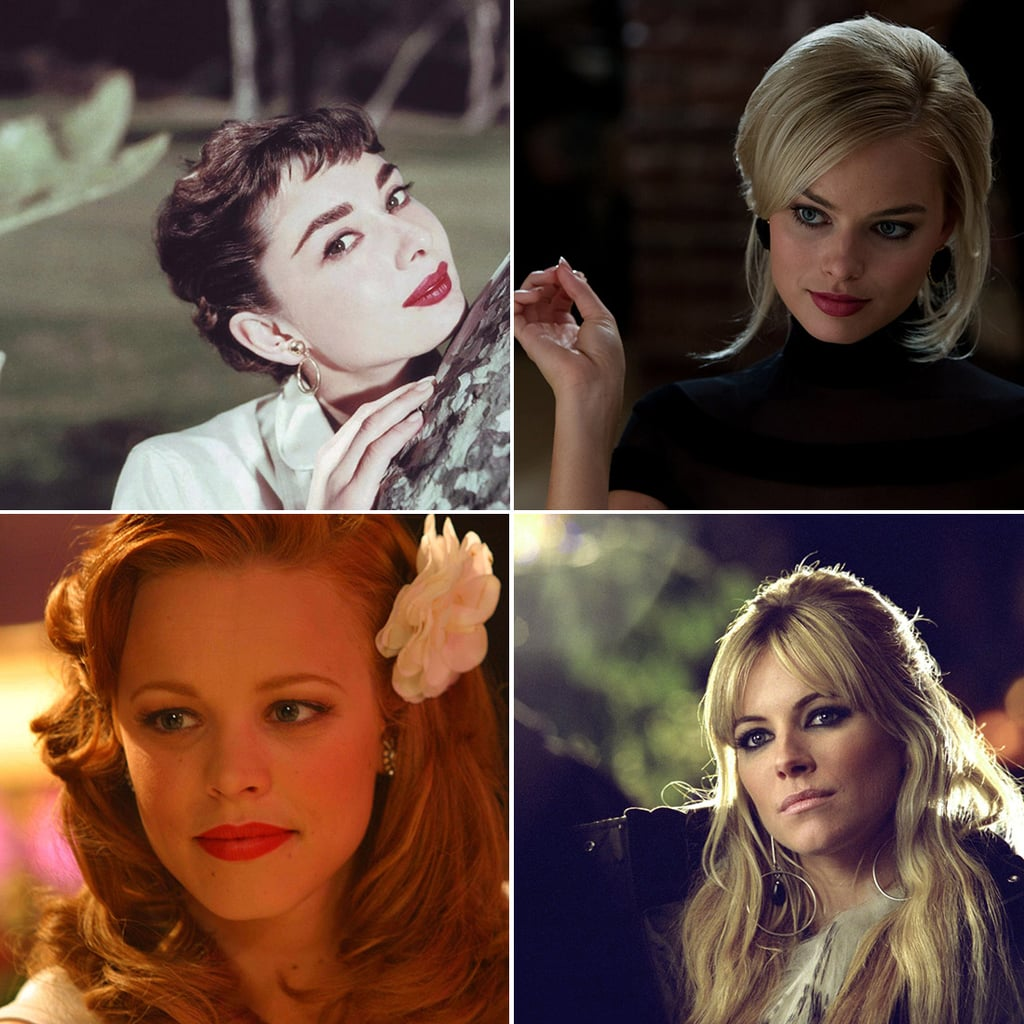 Beautiful Movie Star Characters