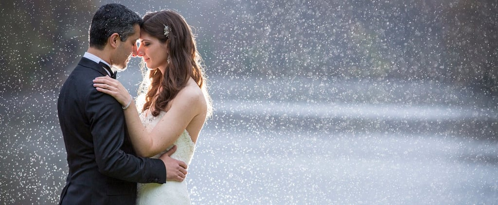 This Bride Was Dreading Rain at Her Wedding, but It Ended Up Being One of the Highlights