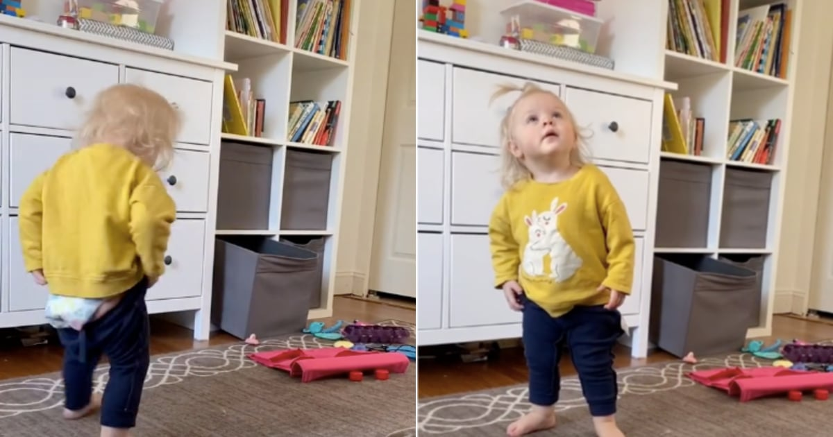 If This Video of a Toddler Trying to Put On Her Pants Isn't All of Us While Social Distancing, What Is?