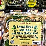 Trader Joe's Broccoli Slaw and Kale Salad With Chicken