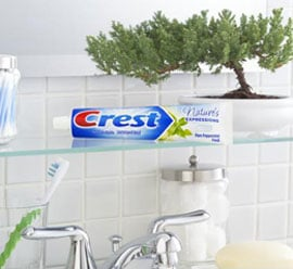 New From Crest: Nature's Expressions Toothpaste