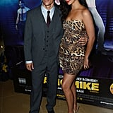 Matthew McConaughey and Camila Alves posed together for the Magic Mike premiere in London.