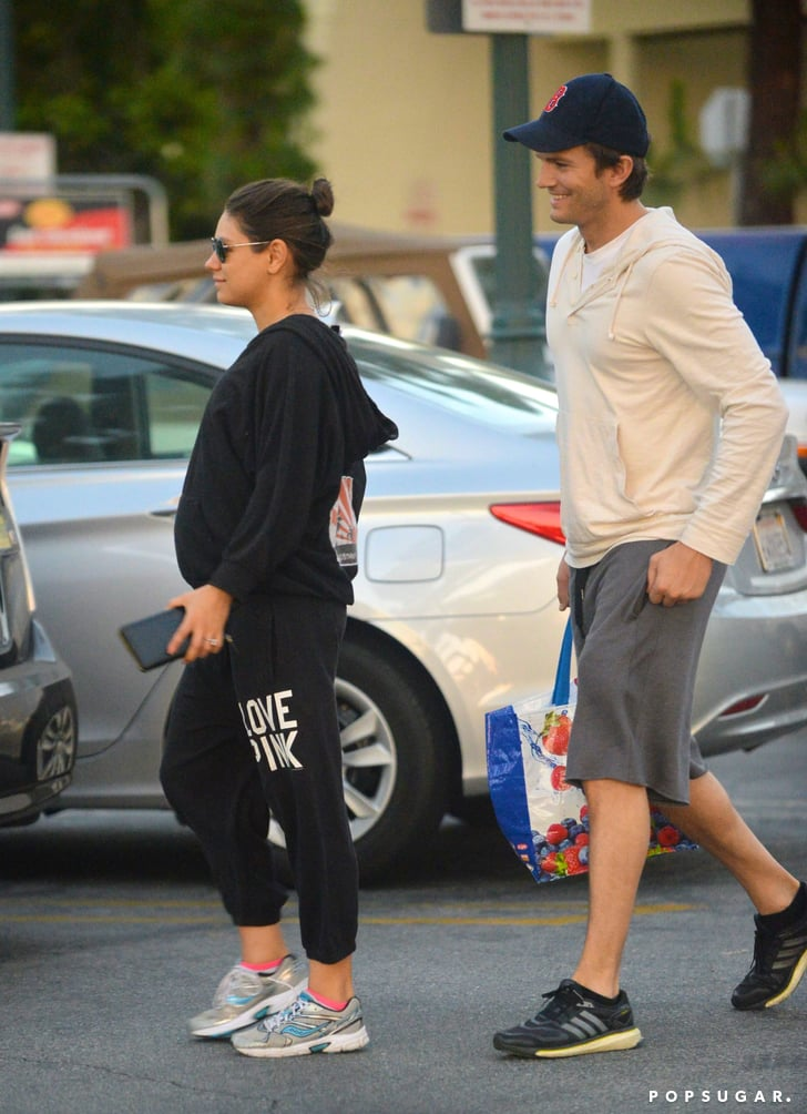 Only Mila and Ashton Can Make Grocery Shopping Look This Cute
