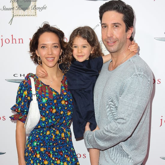 David Schwimmer on the Red Carpet With Wife and Daughter