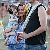 Alicia Silverstone brought her son Bear to Coachella's second weekend with husband Christopher Jarecki.