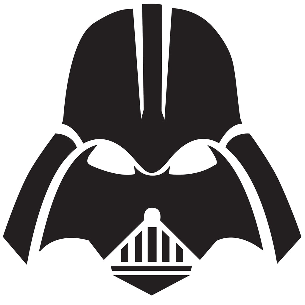 pumpkin template darth vader  Darth Vader Mask | Free Star Wars Pumpkin Templates ...
