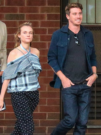 Diane Kruger and Garrett Hedlund Step Out in New York City