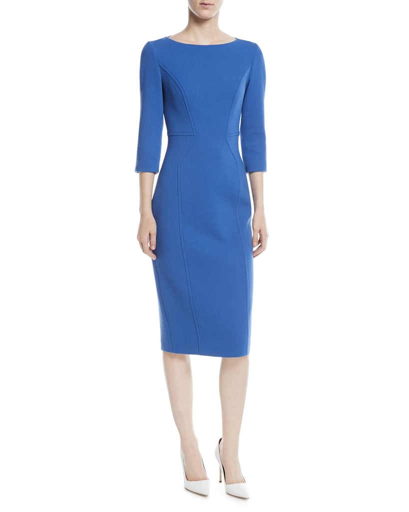 Michael Kors Stretch Boucle Crepe Dress